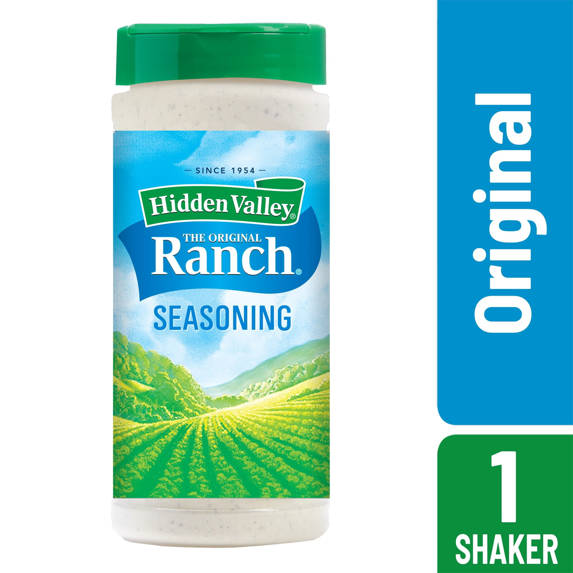 Hidden Valley Original Ranch Salad Dressing Seasoning Mix Gluten Free Keto Friendly 1 Canister Walmart Com Walmart Com
