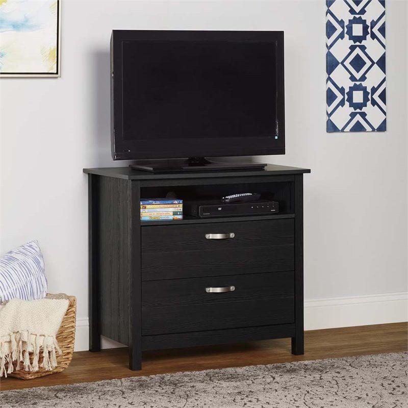 Ameriwood Home River Layne 2 Drawer Media Dresser, Multiple Colors