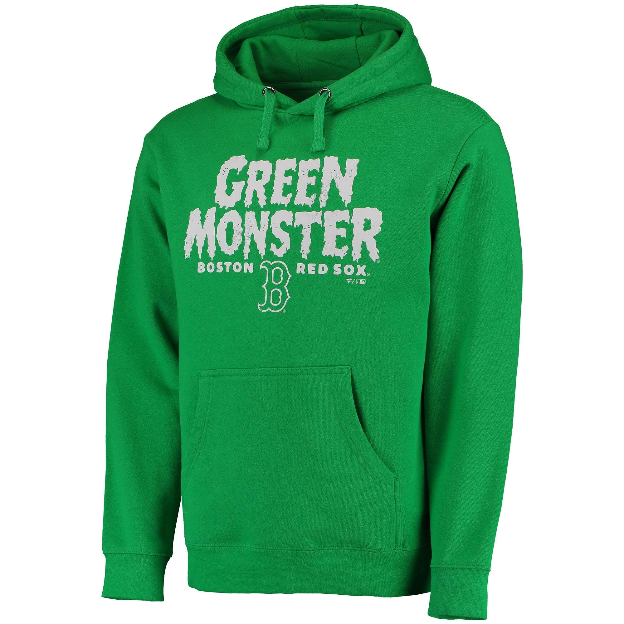 Men's Kelly Green Boston Red Sox Monster Hometown Pullover Hoodie
