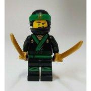 LEGO Ninjago Movie Minifigure LLoyd GREEN NINJA 70612 70618 MINIFIG