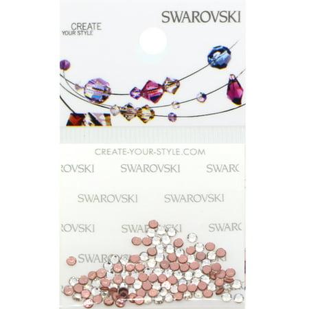 Swarovski 2038 Hot Fix Rhinestones FlatBack 6ss Crystal 115 pcs