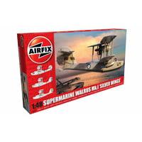 Airfix Supermarine Walrus MK I Silver Wings 1:48 Military Aviation Plastic Model Kit A09187