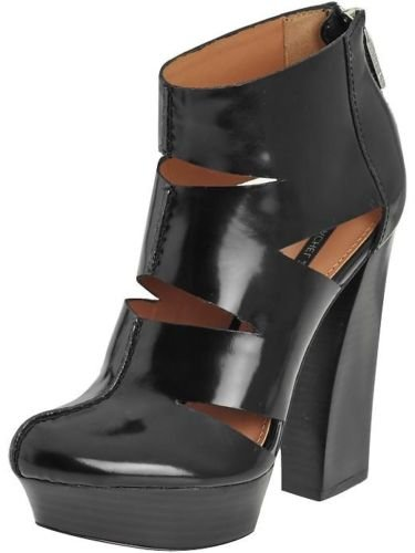 Rachel Zoe Women's Elliot Spazzolato Heel Shoes, Black, Size 5