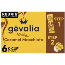 Coffee Pods: Gevalia K-Cup Pods with Froth Packets