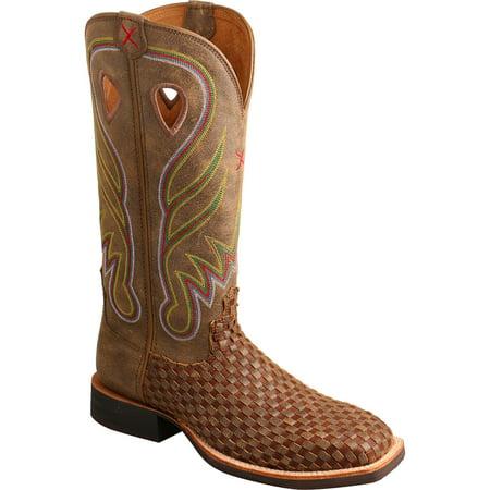 Twisted X Boots WRS0026 Ruff Stock Cowboy Boot (Women's) SHePl86