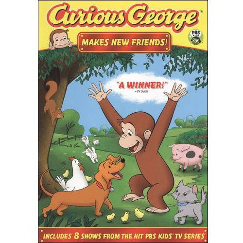 CURIOUS GEORGE-MAKES NEW FRIENDS (DVD) (ENG SDH/DOL DIG 2.0)