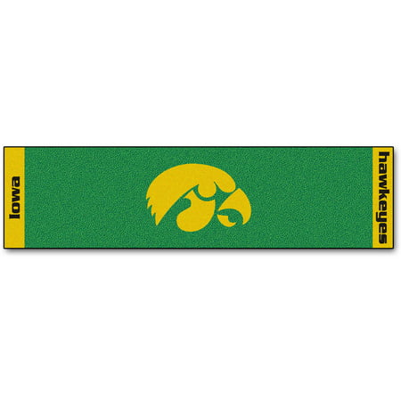 Nfl Putting Green Mat - FanMats University of Iowa Putting Green Mat
