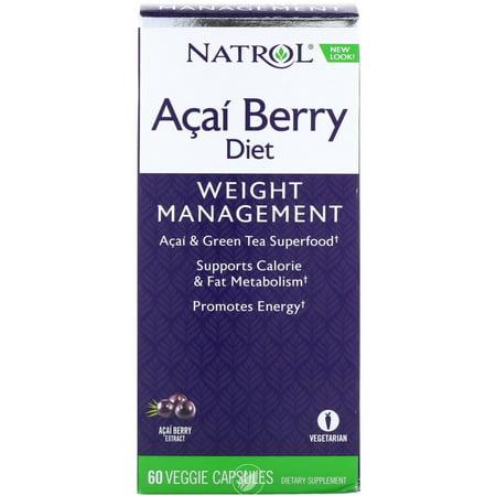 Natrol Acai Berry Diet 60 Capsule, Pack of -