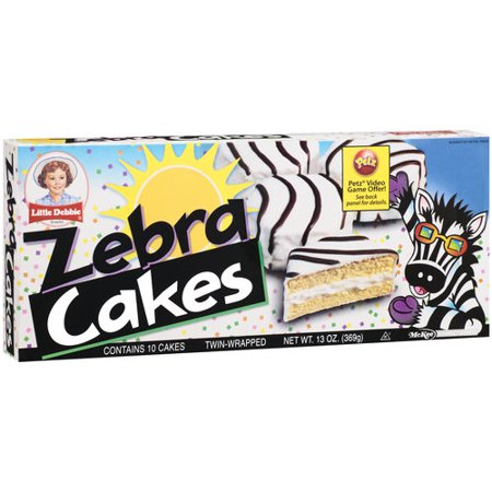 Little Debbie Snacks Zebra Cakes 5ct