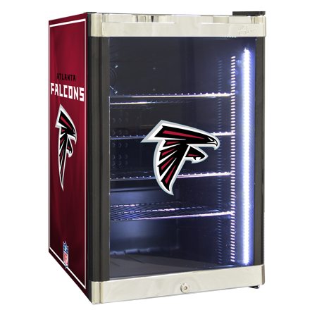 NFL Refrigerated Beverage Center 2.5 cu ft- Atlanta Falcons by