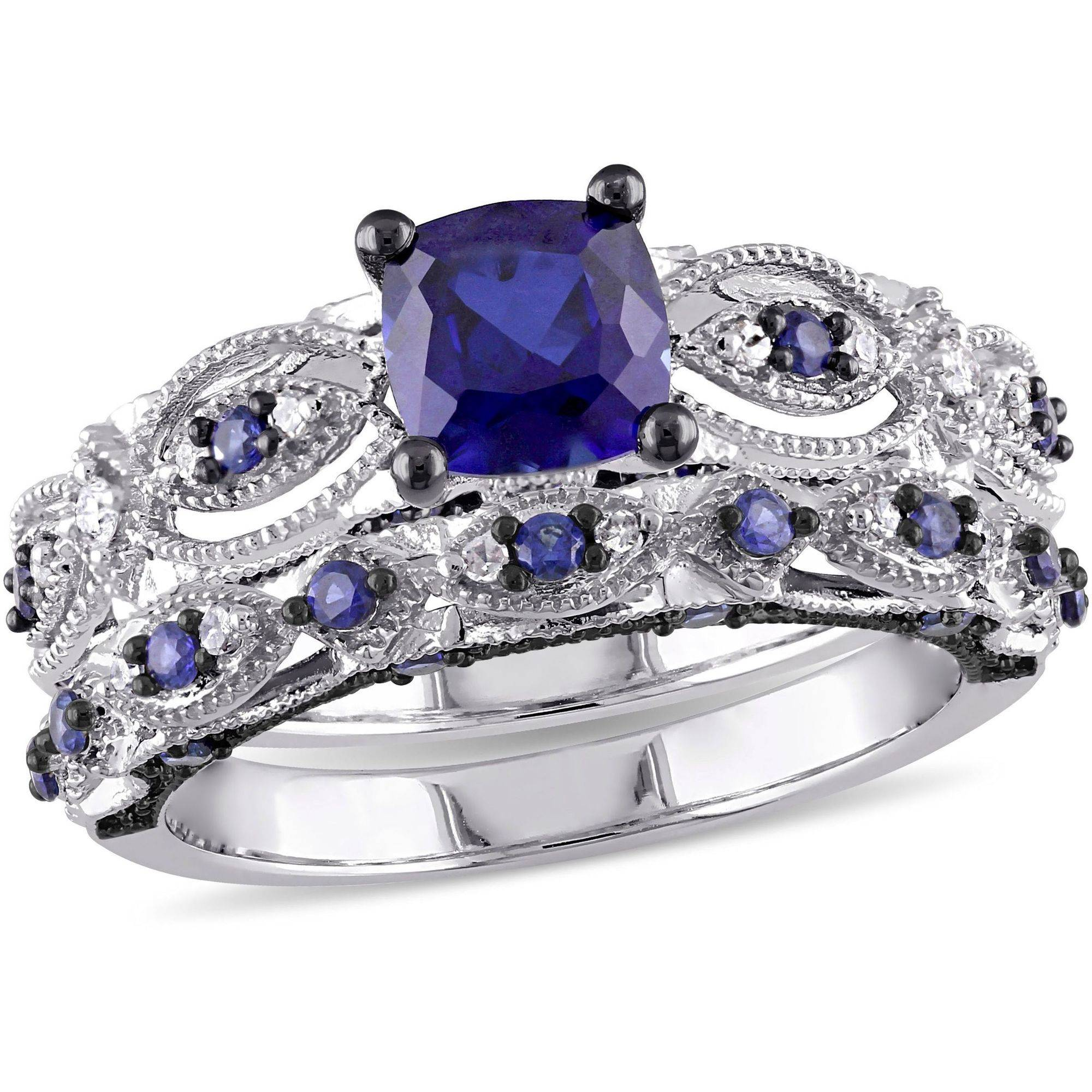 rings diamond three womens stone one and dress avanti ring carat image sapphire platinum