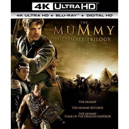The Mummy Ultimate Trilogy  4K Ultra Hd   Blu Ray