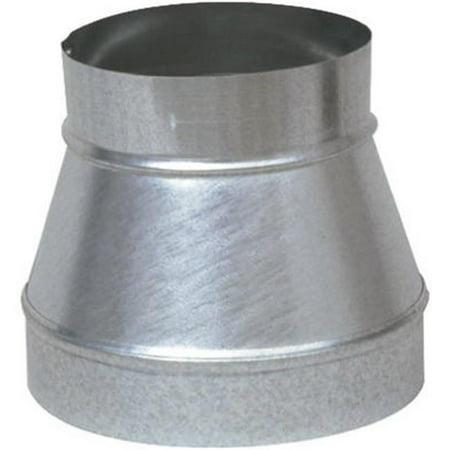 GV0791 8 x 6 in. Galvanized Taper Reducer & Increaser