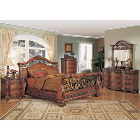 Wildon Home Nicholas Sleigh Bedroom Collection