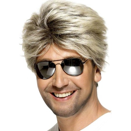 80's Street Wig Adult Costume Accessory](80's Rock Star Wig)