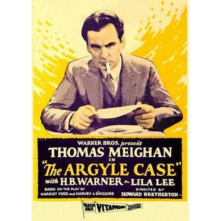Argyle Case Movie Poster  11 X 17