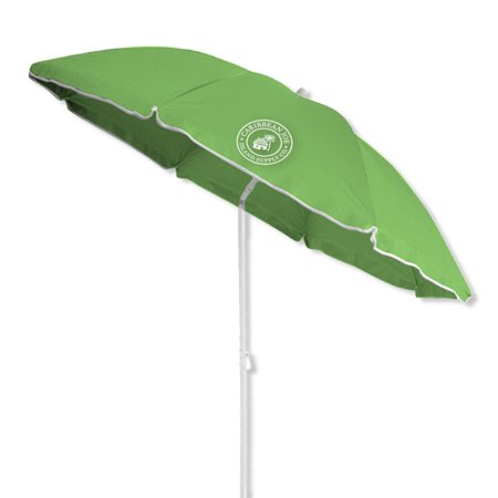 Caribbean Joe 6 ft. Beach Umbrella with Carry Case