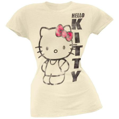 Hello Kitty - Distressed Big Kitty Juniors