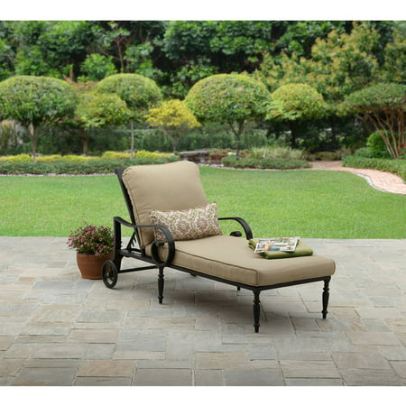 Better homes and gardens englewood heights ii aluminum for Better homes and gardens hillcrest outdoor chaise lounge