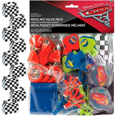 Disney Cars Filled Favor Box Kit (for 8 Guests) ()