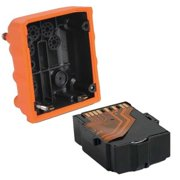 INDUSTRIAL SCIENTIFIC VTSB-211 Replacement Battery, ER Li-Ion, Orange