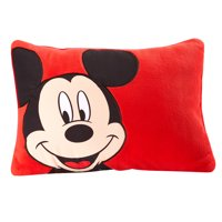 Disney Mickey Mouse Super Soft Toddler Pillow, 12 x 15""