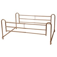 Drive Medical Home Bed Style Adjustable Length Bed Rails, 1 Pair
