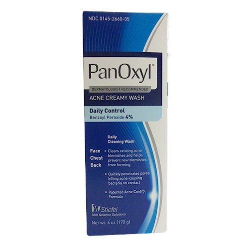2 Pack - Panoxyl 4 Benzoyl Peroxide Acne Foaming Face Wash
