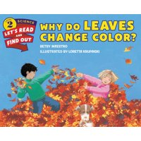 Why Do Leaves Change Color? (Paperback)