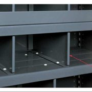 EDSAL 246DX Divider, Steel, 24 In. W, 6 In. D