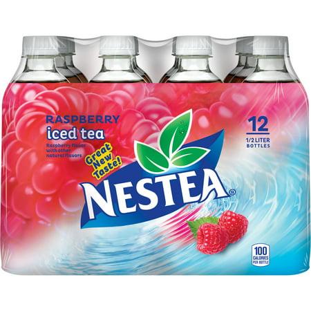 Nestea Raspberry Iced Tea, 16.9 fl oz, 12 pack - Walmart.com