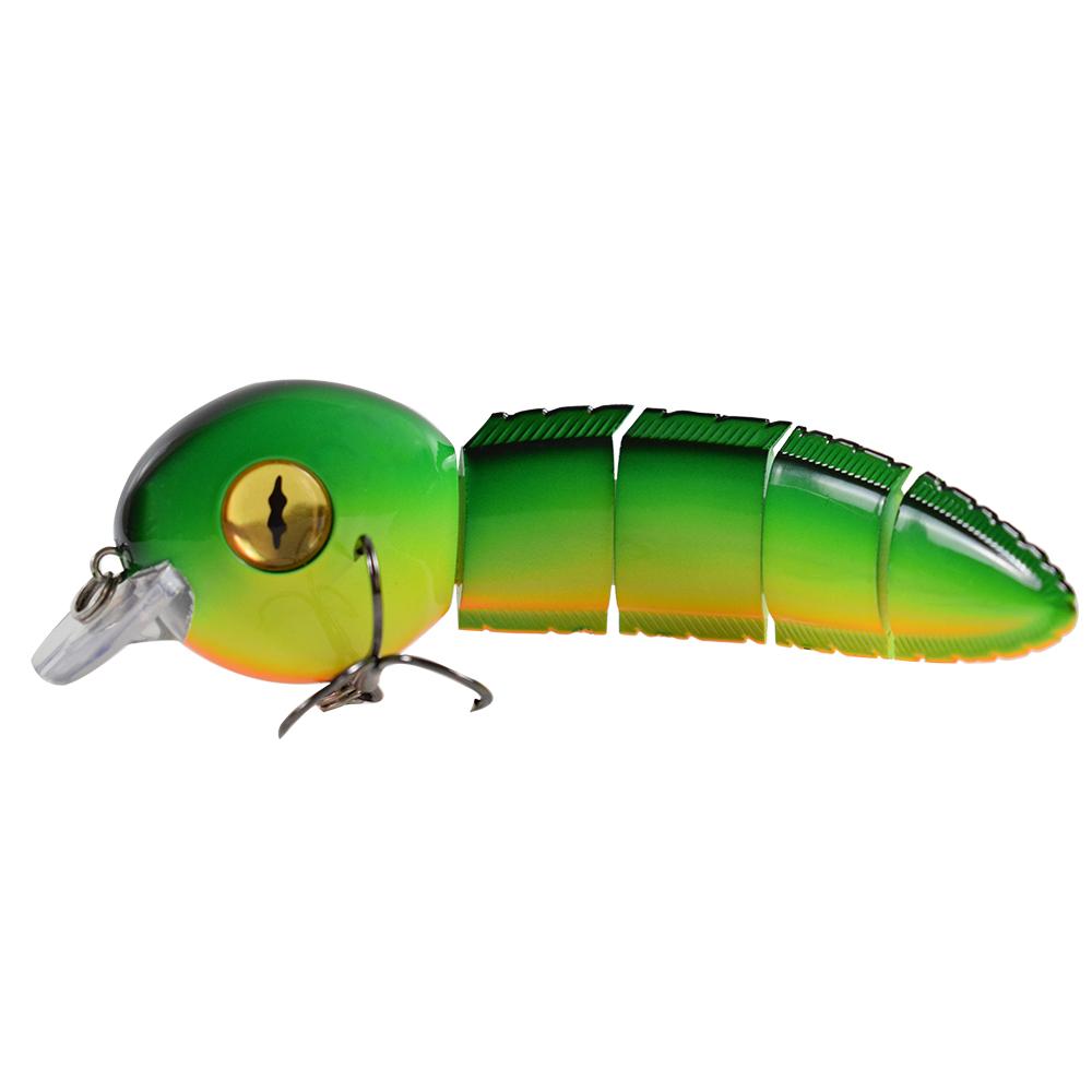 4 Pcs Fishing Hook Soft Fishing Jig Lure Wobbler Fishing Bait for Bass Carp M6J2