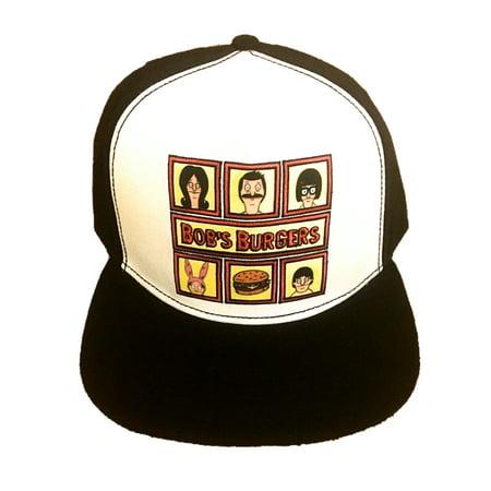 Men's Baseball Hat Bob Tina Louise Belcher Faces TV Show  - Bobs (Louise Hat Bob's Burgers)