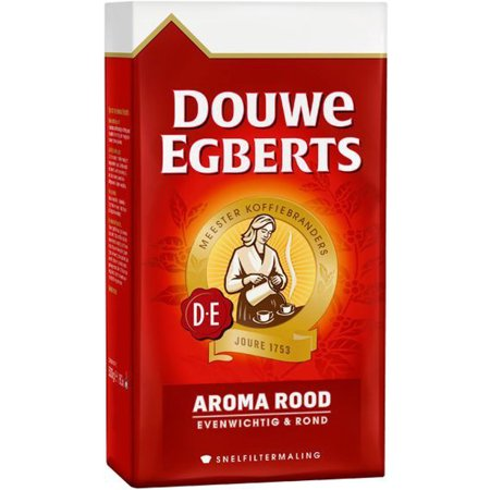 Douwe Egberts Ground Coffee - Douwe Egberts Aroma Rood Ground Coffee, 17.6 Oz.
