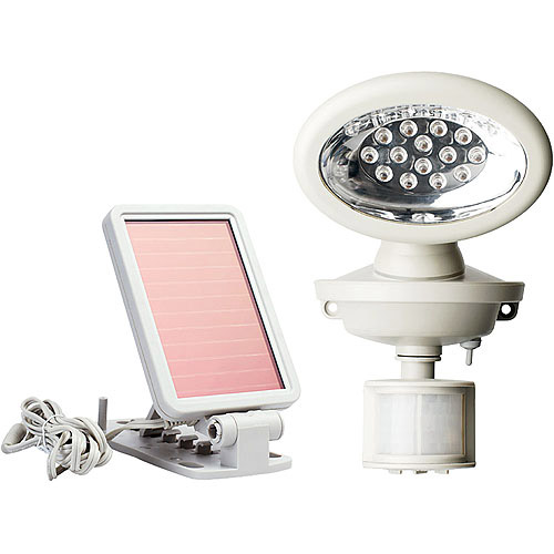 MAXSA Motion-Activated 14 LED Security Floodlight