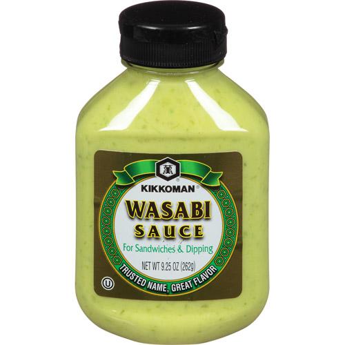 Kikkoman Wasabi Sauce, 9.25 oz, (Pack of 9)