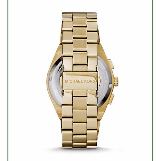 53e8d8004ed5 Michael Kors - Reagan Gold-Tone Chronograph Ladies Watch MK6078 ...
