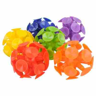 6ct Suction Cup Ball - Spritz