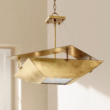 Ventura Square Chandelier (Possini Euro Design Squared Up 28 1/4