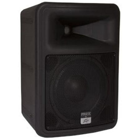 peavey impulse 100 pro audio dj outdoor weather resistant 10 2way speaker black factory. Black Bedroom Furniture Sets. Home Design Ideas