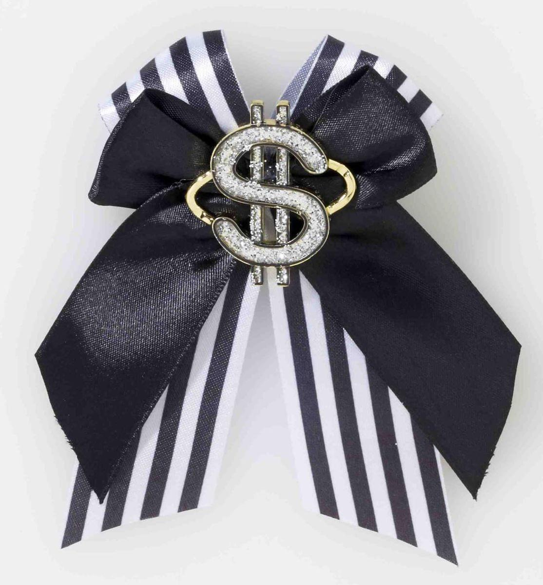 Gangster Dollar Sign Hair Clip Costume Accessory One Size