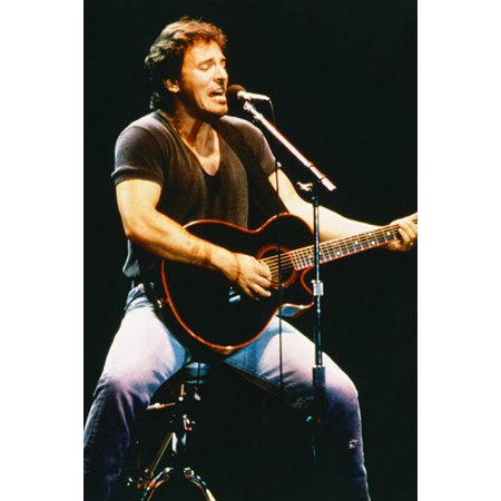 Bruce Springsteen Concert Iconic 24x36 Poster The Boss classic pose Classic Jazz Concert Poster