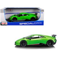 Lamborghini Huracan Performante Metallic Green 1/18 Diecast Model Car by Maisto