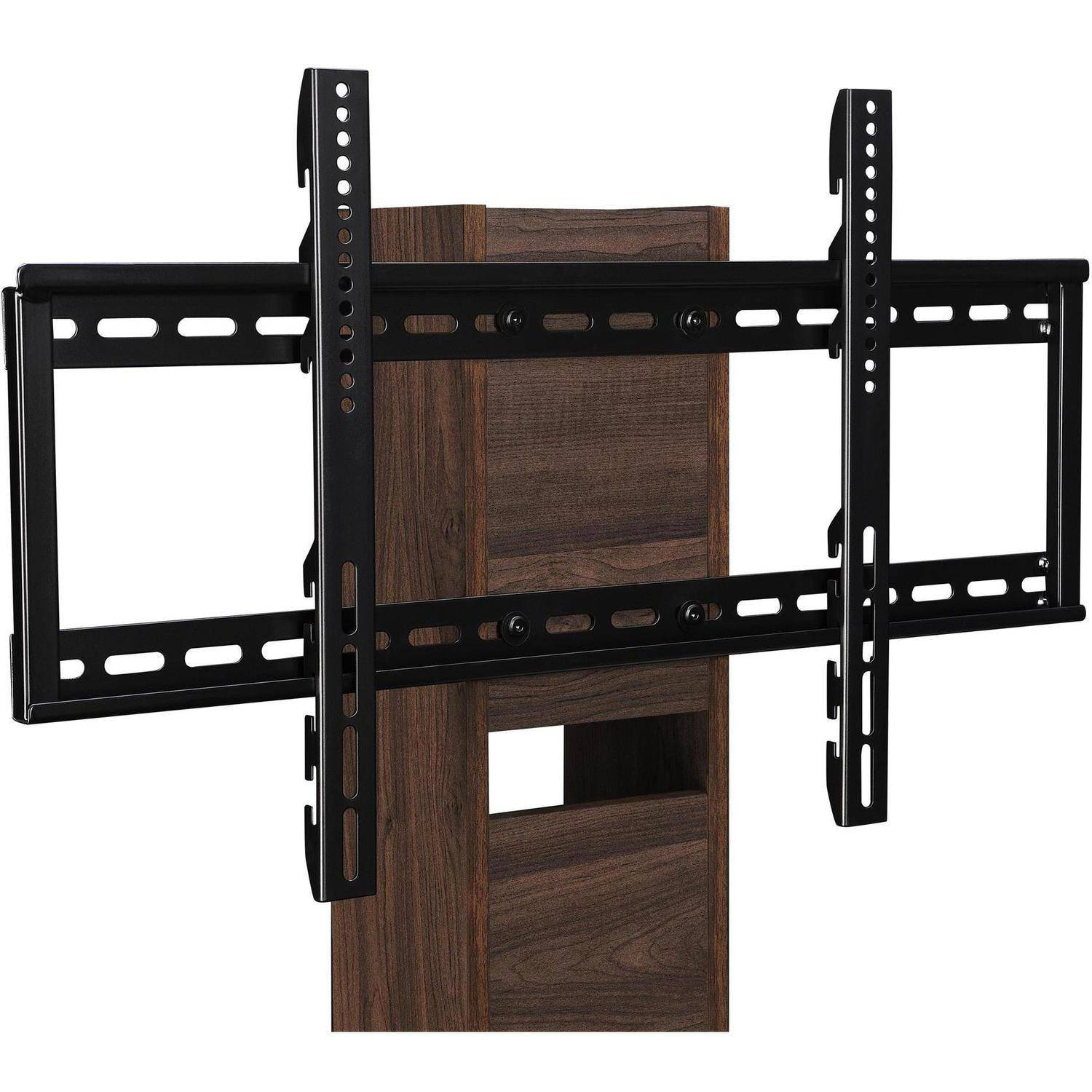 Ameriwood Home Galaxy Tv Stand With Mount For Tvs Up To 50 Black Com