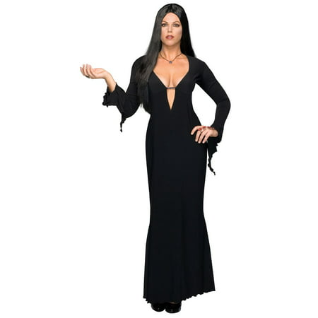 Plus Size Morticia Costume](Family Group Costume Ideas)