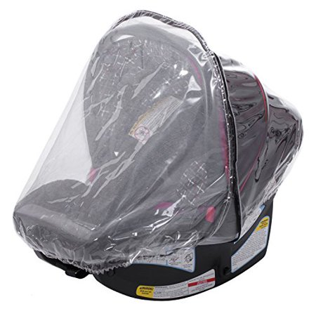 infant carrier car seat rain weather sheild cover 2 in 1 plastic net. Black Bedroom Furniture Sets. Home Design Ideas