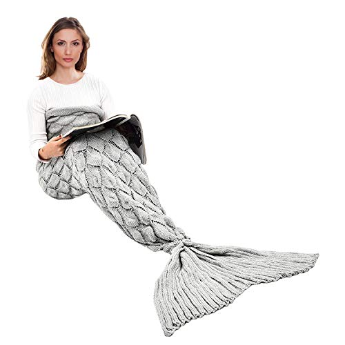 Handmade Mermaid Tail Blanket Crochet Ibaby888 All Seasons Warm Knitted Bed Blankets Sofa Living Room Quilt For Adults Fish Walmart Canada