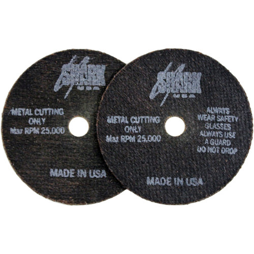 "Shark Cutoff Wheels, 3"" x 1/16"" x 3/8"", 10pk, 54 Grit"
