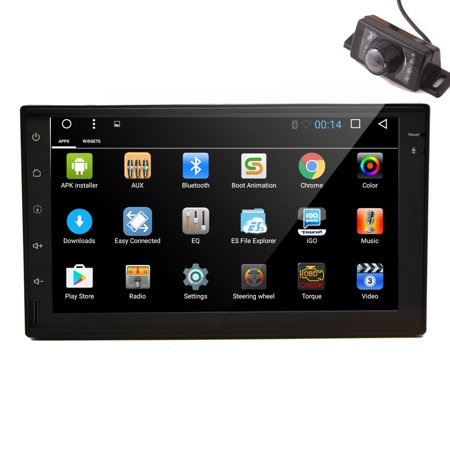 EinCar 7 inch Car Stereo Multimeadia Player With Android 6.0 Marshmallow Double 2 Din Car Naviagtor Built-in GPS Map Data Support Screen Mirroring Backup Camrea Bluetooth WIFI 3G/4G (Best App Data Backup Android)