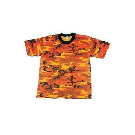 T-Shirt/Tri Color Desert Camo, Medium